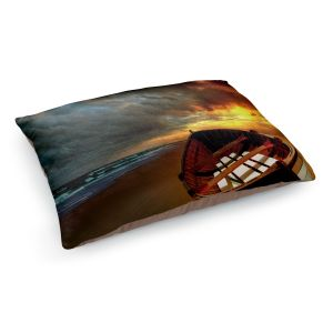 Decorative Dog Pet Beds | Carlos Casomeyer - Soft Sunrise On The Beach IX