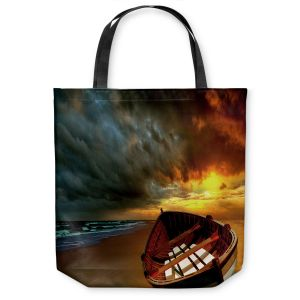Unique Shoulder Bag Tote Bags |Carlos Casomeyer - Soft Sunrise On The Beach IX