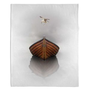 Decorative Fleece Throw Blankets | Carlos Casomeyer - Time Stopped I