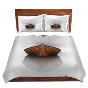 Artistic Duvet Covers and Shams Bedding | Carlos Casomeyer - Time Stopped I