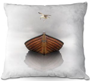 Decorative Outdoor Patio Pillow Cushion | Carlos Casomeyer - Time Stopped I