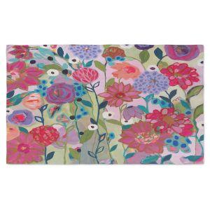 Artistic Pashmina Scarf | Carrie Schmitt - Adventures On The Garden Path | Flower Pattern