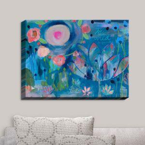 Decorative Canvas Wall Art | Carrie Schmitt - Be Wild Flowers