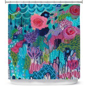Premium Shower Curtains | Carrie Schmitt - City In Bloom
