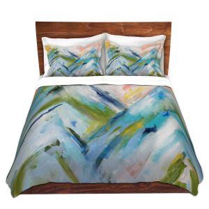 Artistic Duvet Covers and Shams Bedding | Carrie Schmitt - Colorado Bluebird Sky