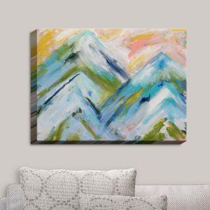 Decorative Canvas Wall Art | Carrie Schmitt - Colorado Bluebird Sky | Abstract