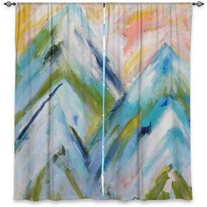 Decorative Window Treatments | Carrie Schmitt - Colorado Bluebird Sky