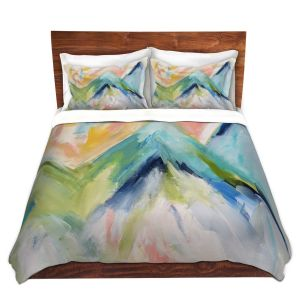 Decorative Duvet Covers from DiaNoche by Carrie Schmitt - Denver Surprise