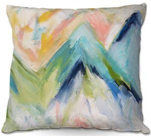 Decorative Outdoor Patio Pillow Cushion | Carrie Schmitt - Denver Surprise