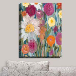 Decorative Canvas Wall Art | Carrie Schmitt - Earth at Daybreak Flowers