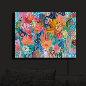 Nightlight Sconce Canvas Light | Carrie Schmitt - Exhalation | Abstract Flowers