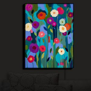 Nightlight Sconce Canvas Light | Carrie Schmitt - Good Morning Sunshine Flowers