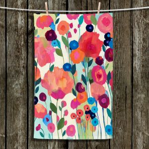 Unique Hanging Tea Towels | Carrie Schmitt - Howd You Get So Pretty Flowers | Flowers