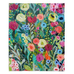 Decorative Fleece Throw Blankets | Carrie Schmitt - Into The Depths