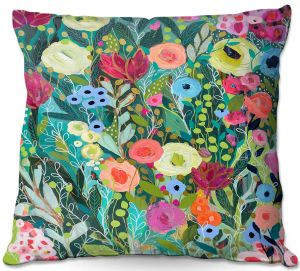 Throw Pillows Decorative Artistic | Carrie Schmitt - Into The Depths