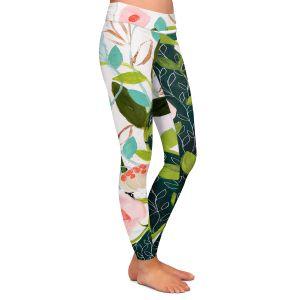 Casual Comfortable Leggings | Carrie Schmitt - Julies Faith | Flower Pattern