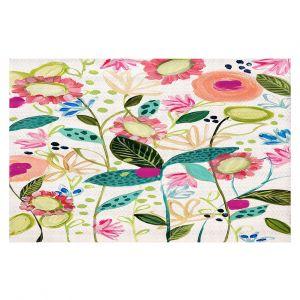 Decorative Floor Coverings   Carrie Schmitt - Spontaneous   Flower Pattern