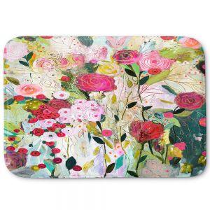 Decorative Bathroom Mats | Carrie Schmitt - Wild Rose