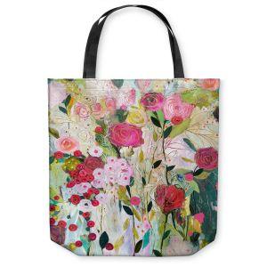 Unique Shoulder Bag Tote Bags |Carrie Schmitt - Wild Rose