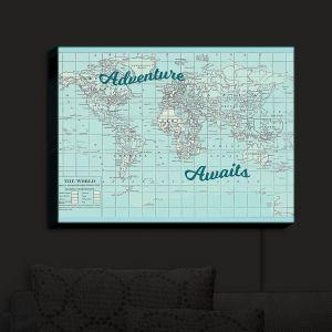 Nightlight Sconce Canvas Light | Catherine Holcombe - Adventure Awaits