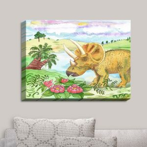 Decorative Canvas Wall Art | Catherine Holcombe - Dinosaur II