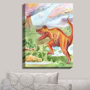 Decorative Canvas Wall Art | Catherine Holcombe - Dinosaur III