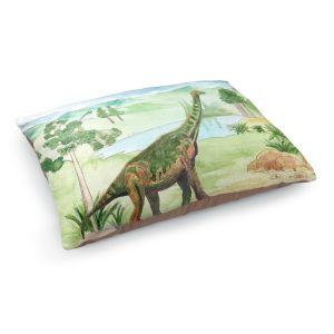 Decorative Dog Pet Beds | Catherine Holcombe - Dinosaur IV