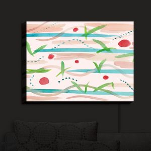 Nightlight Sconce Canvas Light | Catherine Holcombe - Southwest Song | Absract Pattern