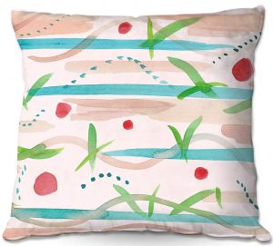 Decorative Outdoor Patio Pillow Cushion | Catherine Holcombe - Southwest Song