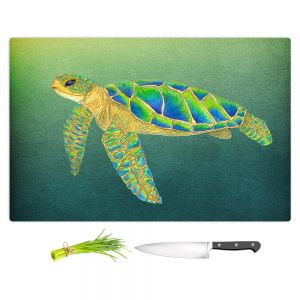 Artistic Kitchen Bar Cutting Boards | Catherine Holcombe - Syndney Seaturtle