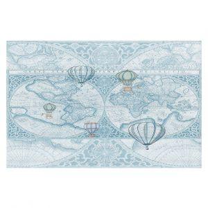 Decorative Floor Coverings | Catherine Holcombe - Terralight Blue