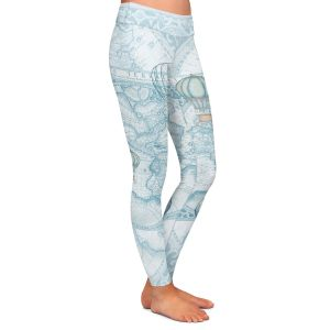 Casual Comfortable Leggings | Catherine Holcombe - Terralight Blue