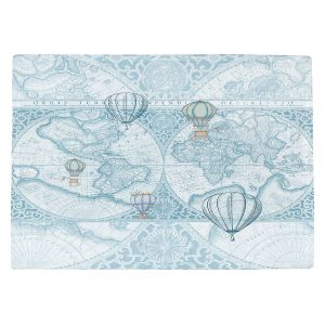 Countertop Place Mats   Catherine Holcombe - Terralight Blue