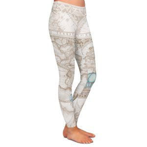 Casual Comfortable Leggings | Catherine Holcombe - Terralight Brown