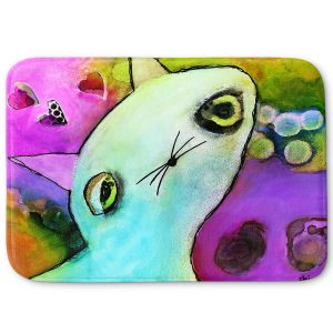 Decorative Bathroom Mats | China Carnella - Baby Gato | surreal cat animal creature feline