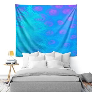 Artistic Wall Tapestry | China Carnella - Bluebell