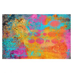 Decorative Floor Covering Mats | China Carnella - Blue Fire | abstract pattern