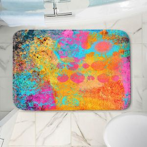 Decorative Bathroom Mats | China Carnella - Blue Fire | abstract pattern