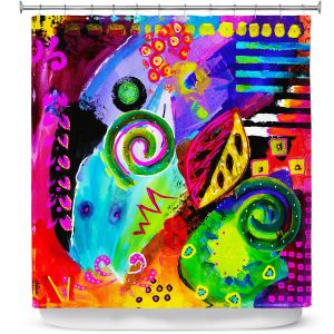 Premium Shower Curtains | China Carnella Crazy Abstract II