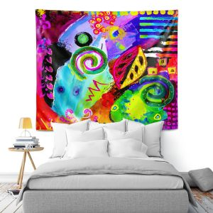 Artistic Wall Tapestry | China Carnella Crazy Abstract II
