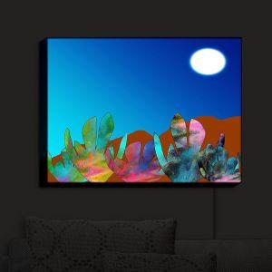 Nightlight Sconce Canvas Light | China Carnella - Desert Evening | Landscape