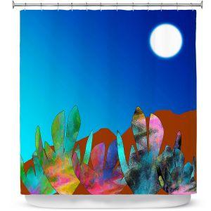 Premium Shower Curtains | China Carnella - Desert Evening