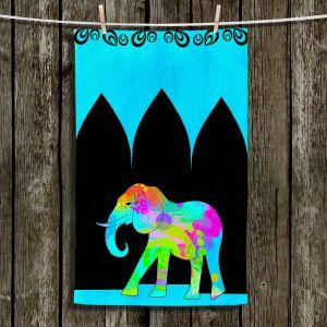 Unique Hanging Tea Towels | China Carnella - Exotica Elephant | Animals Elephant