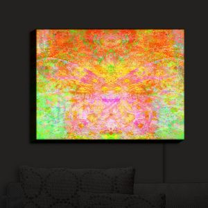 Nightlight Sconce Canvas Light | China Carnella - Firefly | Abstract Colorful