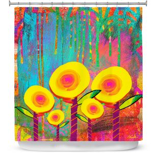 Premium Shower Curtains | China Carnella Flower Family