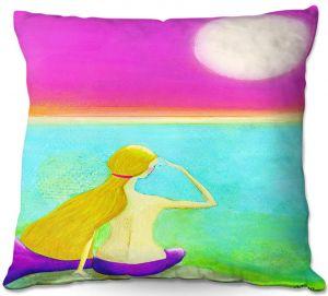 Throw Pillows Decorative Artistic   China Carnella - Mermaid Moon