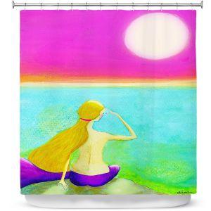 Premium Shower Curtains | China Carnella - Mermaid Moon