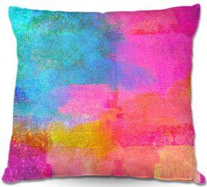 Unique Throw Pillows from DiaNoche Designs by China Carnella - Monaco   16X16