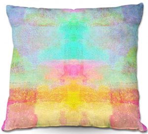 Unique Throw Pillows from DiaNoche Designs by China Carnella - Pastel Fields