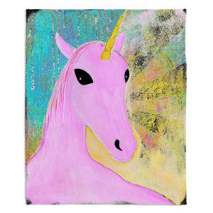 Decorative Fleece Throw Blankets | China Carnella - Pink Unicorn